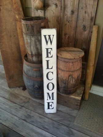 primitive furniture ,signs,home decor